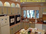 kitchen remodeling job in Brookline