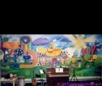 Mural by James Mobius.