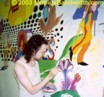 Mural, in the works...by James Mobius.